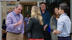 Karl Kennedy, Abby Coleman, Gary Canning, Sonya Mitchell, David Tanaka in Neighbours Episode 7717