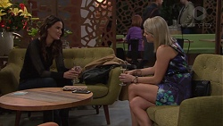 Elly Conway, Caro Watts in Neighbours Episode 7717