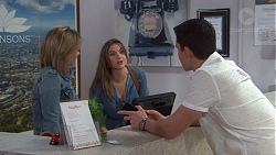 Steph Scully, Amy Williams, Jack Callaghan in Neighbours Episode 7718
