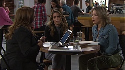 Terese Willis, Paige Novak, Steph Scully in Neighbours Episode 7718