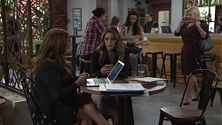 Terese Willis, Paige Novak, Sheila Canning in Neighbours Episode 7718