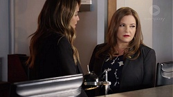 Paige Novak, Terese Willis in Neighbours Episode 7718