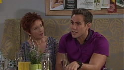 Susan Kennedy, Aaron Brennan in Neighbours Episode 7718