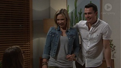 Sonya Mitchell, Steph Scully, Jack Callaghan in Neighbours Episode 7719