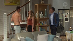 Mark Brennan, Paige Novak, Jack Callaghan in Neighbours Episode 7719