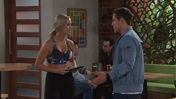 Courtney Grixti, Aaron Brennan in Neighbours Episode 7720