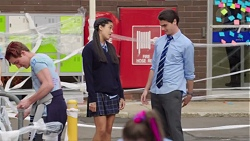 Yashvi Rebecchi, Ben Kirk in Neighbours Episode 7720