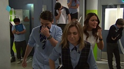 Ben Kirk, Piper Willis, Elly Conway in Neighbours Episode 7720