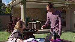 Piper Willis, Tyler Brennan in Neighbours Episode 7720