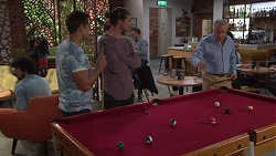 Aaron Brennan, Tyler Brennan, Hamish Roche in Neighbours Episode 7720