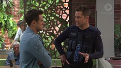 Aaron Brennan, Mark Brennan in Neighbours Episode 7721
