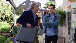 Hamish Roche, Aaron Brennan in Neighbours Episode 7721