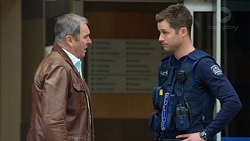 Karl Kennedy, Mark Brennan in Neighbours Episode 7721
