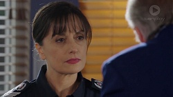 Snr. Sgt. Christina Lake, Hamish Roche in Neighbours Episode 7721