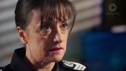 Snr. Sgt. Christina Lake in Neighbours Episode 7722