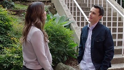 Elly Conway, Jack Callaghan in Neighbours Episode 7723