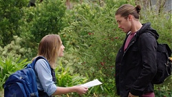 Piper Willis, Tyler Brennan in Neighbours Episode 7723