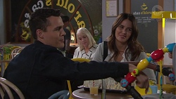 Jack Callaghan, Elly Conway in Neighbours Episode 7723