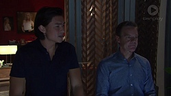 Leo Tanaka, Paul Robinson in Neighbours Episode 7724